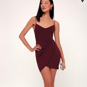 Lulu's Forever Your Girl Dress Plum Purple